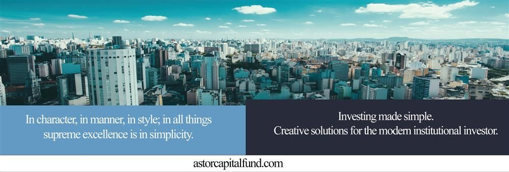 Astor Capital Fund's banner