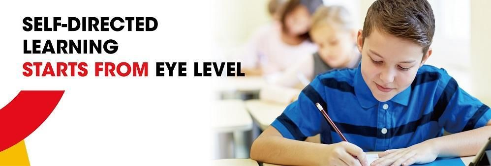 Eye Level One Education Center's banner