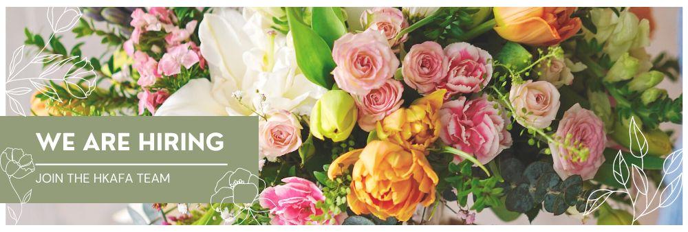 The Hong Kong Academy of Flower Arrangement Limited's banner