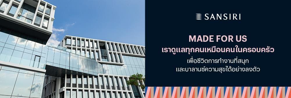 Sansiri Public Company Limited's banner