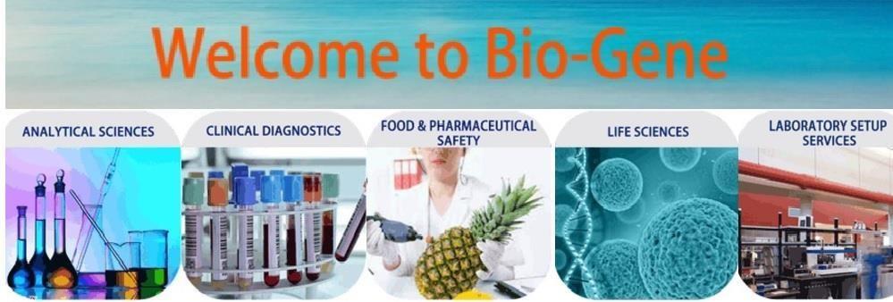Bio-Gene Technology Limited's banner