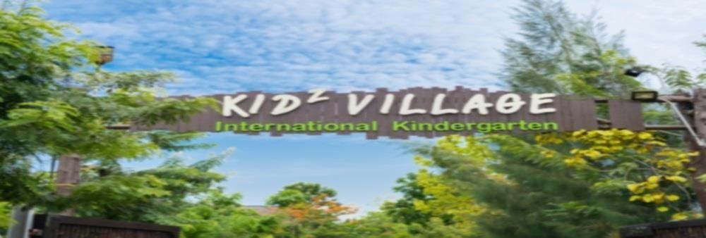 Kidz Village International Kindergarten's banner