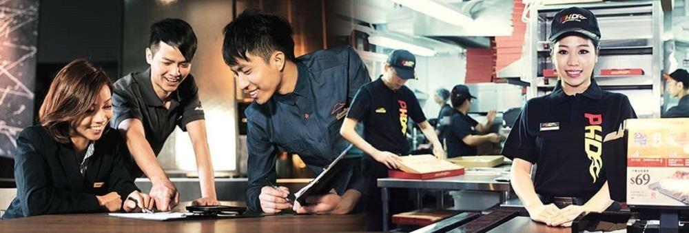 Pizza Hut Hong Kong Management Ltd's banner
