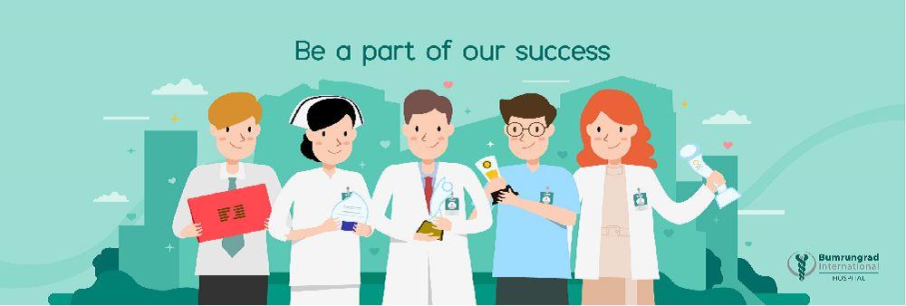 Bumrungrad Hospital Public Company Limited's banner