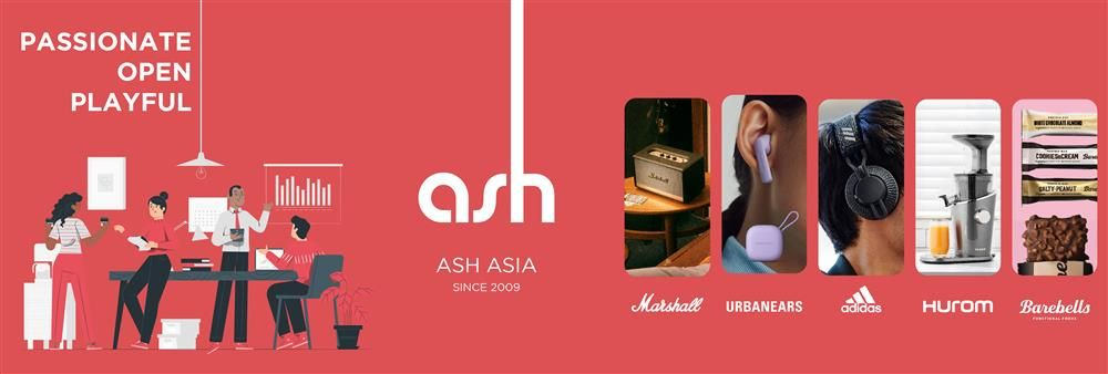 Ash Asia International Limited's banner