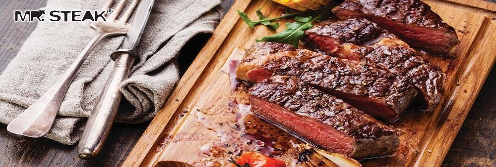 Mr. Steak's banner