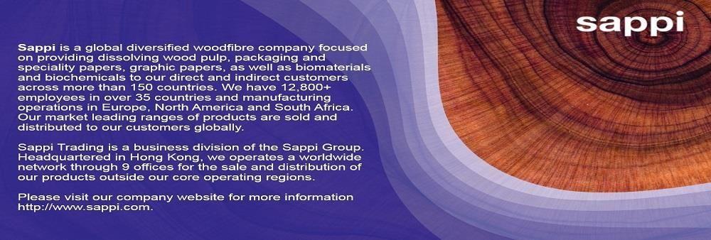 Sappi Trading Hong Kong Limited's banner