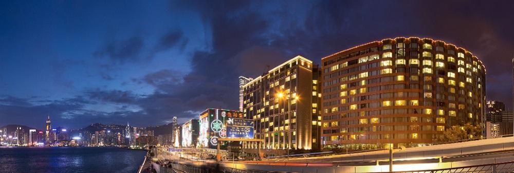 New World Millennium Hong Kong Hotel's banner
