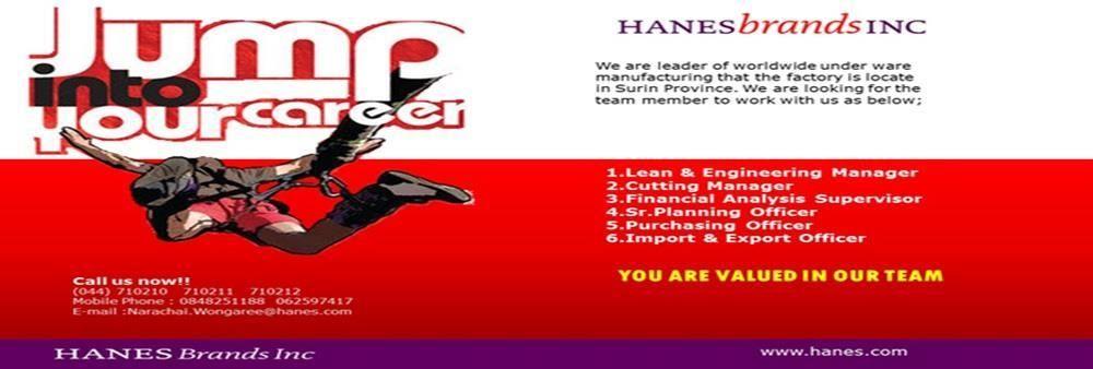 HbI Manufacturing (Thailand) Ltd.'s banner