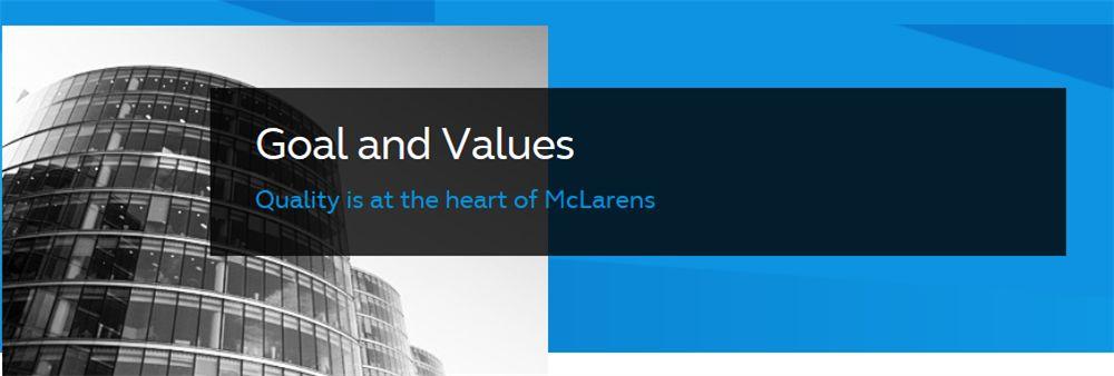 McLarens Hong Kong Ltd's banner