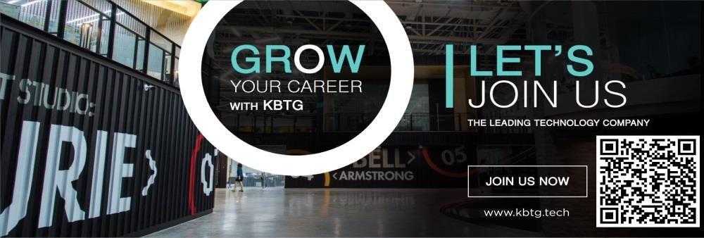 KASIKORN Business - Technology Group (KBTG)'s banner