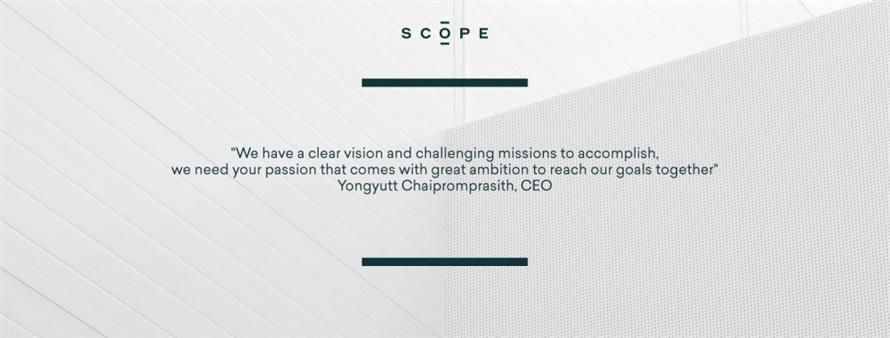 SCOPE COMPANY LIMITED's banner