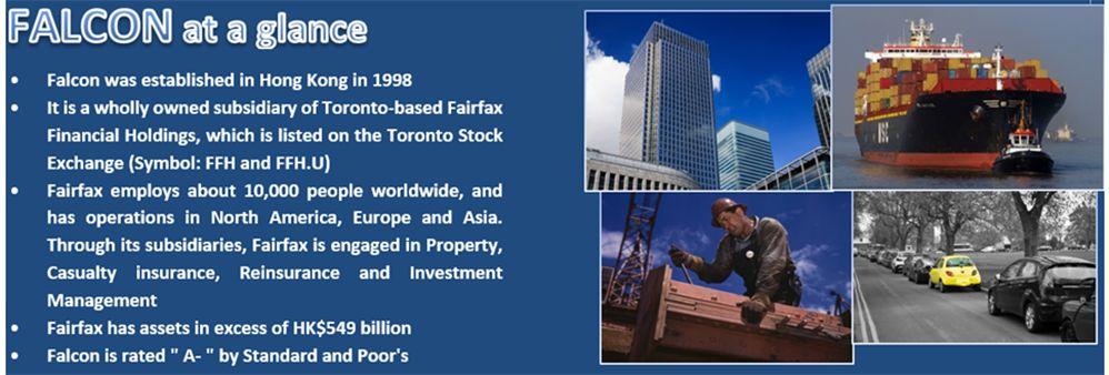 Falcon Insurance Company (Hong Kong) Limited's banner