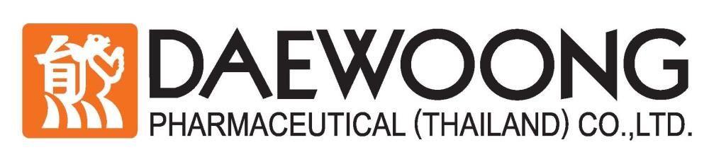 Daewoong Pharmaceutical (Thailand) Co., Ltd.'s banner
