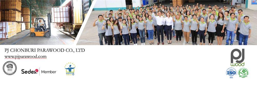 P. J. Chonburi Parawood Co., Ltd.'s banner