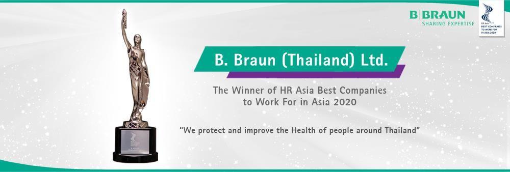 B. Braun (Thailand) Ltd.'s banner