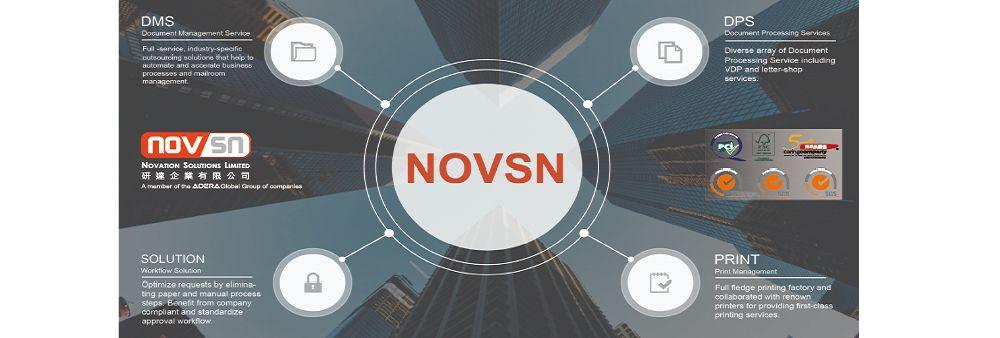 Novation Solutions Limited's banner