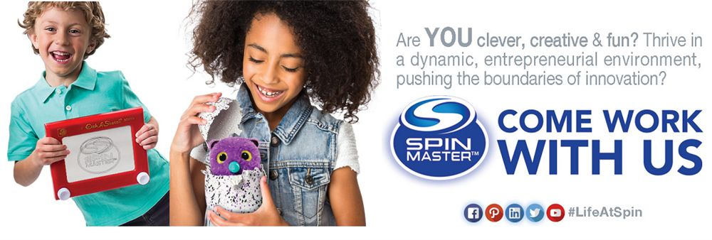 Spin Master Toys Far East Limited's banner