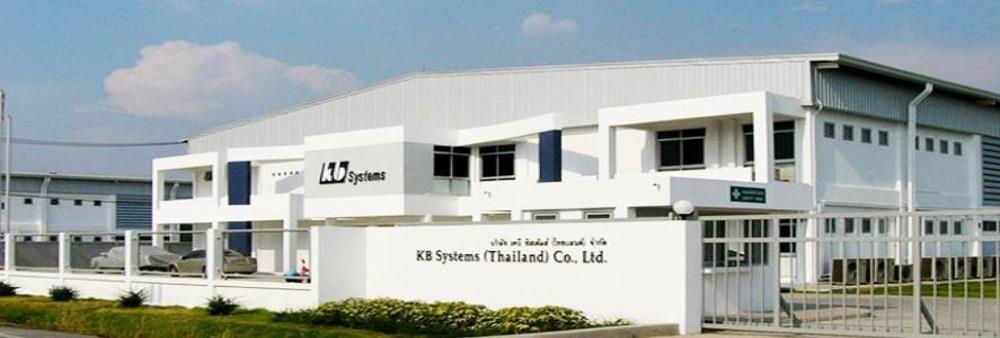 KB Systems (Thailand) Co., Ltd.'s banner
