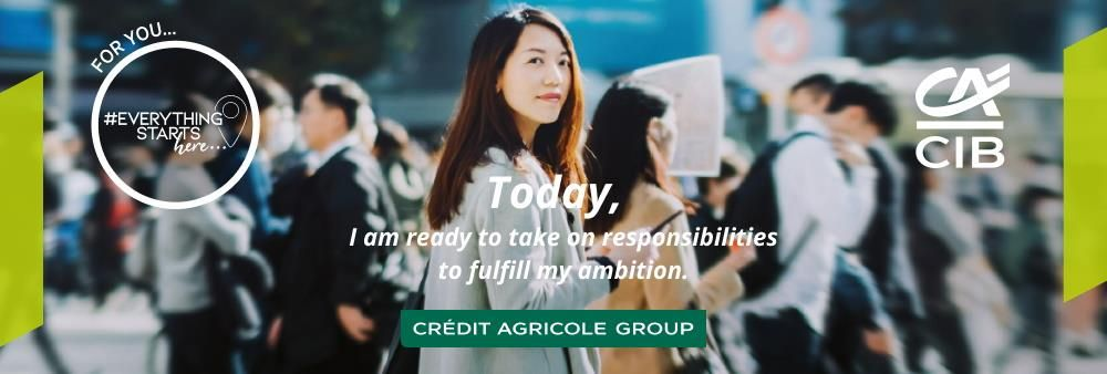 Credit Agricole Corporate And Investment Bank's banner