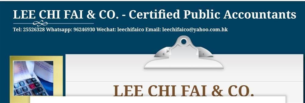 Lee Chi Fai & Co.'s banner