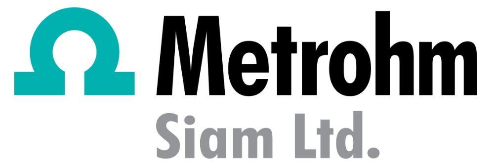 Metrohm Siam Ltd.'s banner