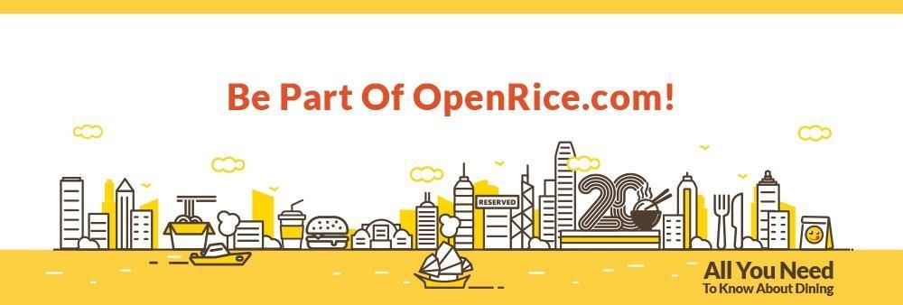 Openrice Limited's banner
