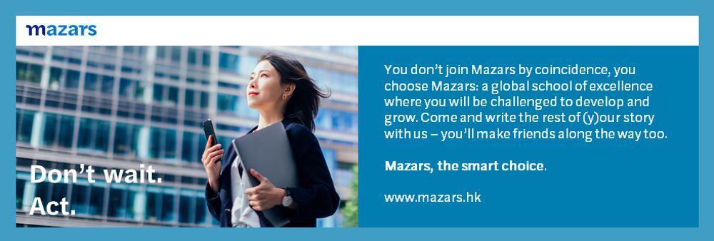 Mazars CPA Limited's banner