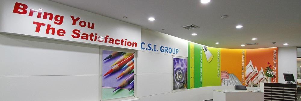 C.S.I. Group's banner
