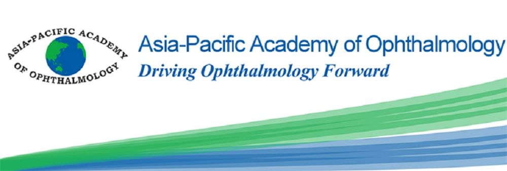 The Asia-Pacific Academy of Ophthalmology's banner