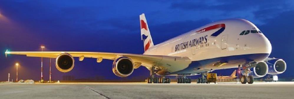British Airways's banner