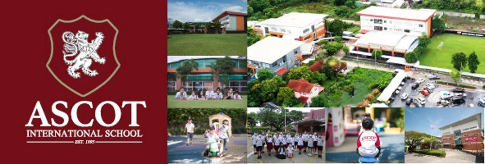 Ascot International School's banner