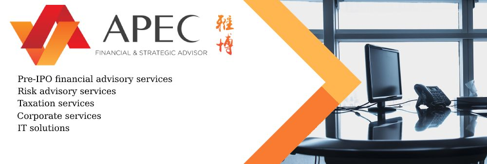 APEC Group International Limited's banner