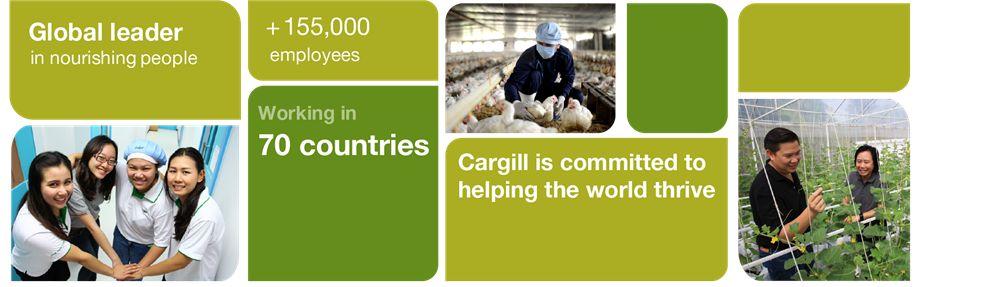 Cargill Siam Ltd.'s banner